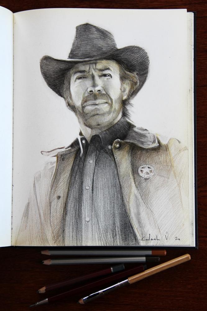 Chuck Norris by Vasiliy